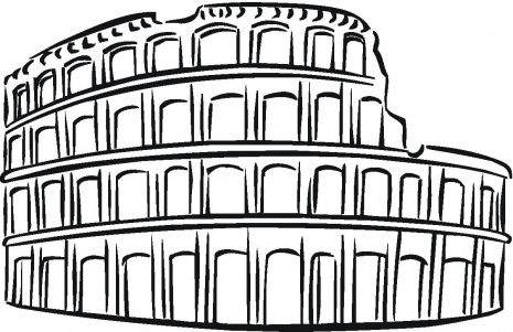 colosseum-coloring-page